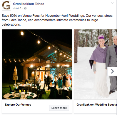 Granlibakken-Evergreen-Facebook-Ad-Winter-Weddings